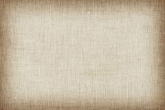 Свет - желтая естественная linen текстура для предпосылки Стоковые Изображения