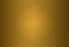 Свет - желтая кожаная предпосылка текстуры Стоковые Фотографии RF