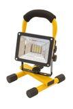 Свет желтого цвета и черной поковки на стойке Стоковые Изображения RF