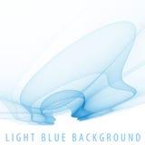свет изображения фрактали предпосылки голубой Стоковое фото RF
