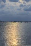 Свет искусства от восхода солнца Стоковое фото RF
