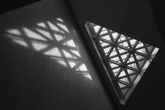 Свет и окно Стоковое Фото