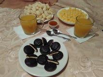 Свет и плотный завтрак стоковое изображение
