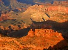 свет каньона грандиозный Стоковые Изображения