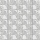 Свет - картина серого геометрического греческого вектора безшовная Monochrome a бесплатная иллюстрация