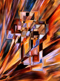 Свет креста Стоковое Фото