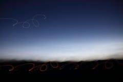 Свет кривых Стоковое фото RF