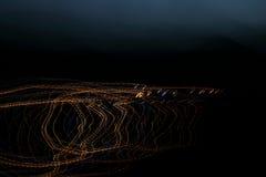 Свет кривых Стоковое Изображение