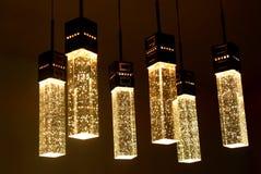 свет кристалла потолка Стоковые Фотографии RF