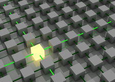свет кубика Стоковое Изображение