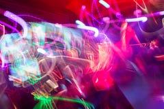 Свет клуба Defocus расплывчатые света стоковые фото