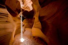 свет луча Стоковая Фотография RF