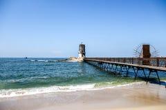 Свет максимального ландшафта Александрии Египта парусника стоковые фотографии rf