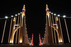 свет моста Стоковое Изображение RF