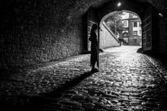 Свет на конце тоннеля Стоковое Фото