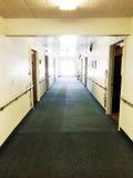 Свет на конце Hall стоковая фотография rf