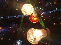 Свет на ноче стоковая фотография