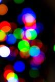 Свет на bokeh ночи Стоковое Изображение RF