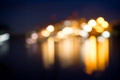 Свет нерезкости корабля Стоковое Изображение RF