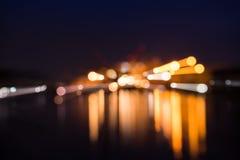 Свет нерезкости корабля Стоковые Изображения RF