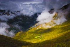 свет облаков Стоковая Фотография RF
