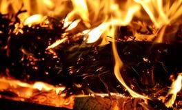 Свет огня Стоковое Фото