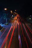 Светлое движение движения Стоковые Фотографии RF