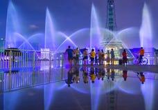 Светлое гидравлическое представление Стоковая Фотография RF
