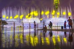Светлое гидравлическое представление Стоковое Изображение RF