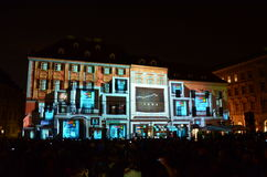 Светлое здание картины Стоковое Фото