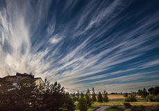 Светлое небо лета Стоковое Изображение RF