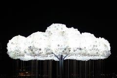 Светлое облако Стоковые Фото