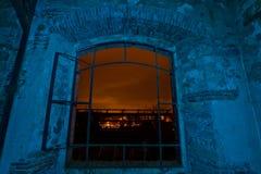 Светлое окно сини картины стоковые фото