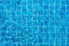 Светлое отражение в бассейне Стоковая Фотография RF