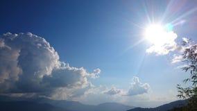 светлое солнце Стоковая Фотография