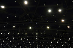 Светлое украшение на крыше Стоковые Изображения