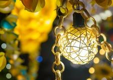 Светлооранжевые украшения Стоковое Фото