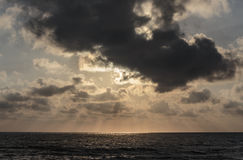 Свет от восхода солнца Стоковая Фотография RF