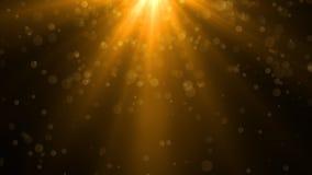 Свет пирофакела объектива над черной предпосылкой Легкий для того чтобы добавить верхний слой Стоковая Фотография