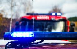Свет пожарных машин Стоковое Изображение RF