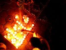 свет празднества Стоковое Фото
