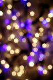 свет праздника Стоковое Изображение