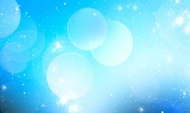Свет - предпосылка голубого неба запачканная Стоковая Фотография
