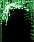 свет предпосылки электрический Стоковое Изображение RF