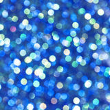 свет предпосылки голубой накаляя Стоковое фото RF