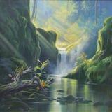 Свет & природа Стоковое Изображение