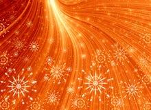 свет рождества золотистый Стоковое Фото