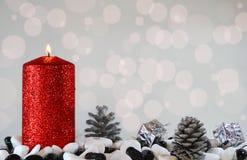 Свет рождества Стоковое Фото