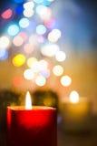 Свет рождества Стоковое Изображение RF