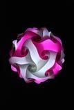 свет - розовая белизна Стоковые Изображения RF